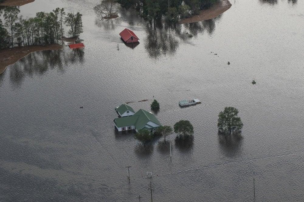hurricane florence, national guard, north carolina, floodwaters