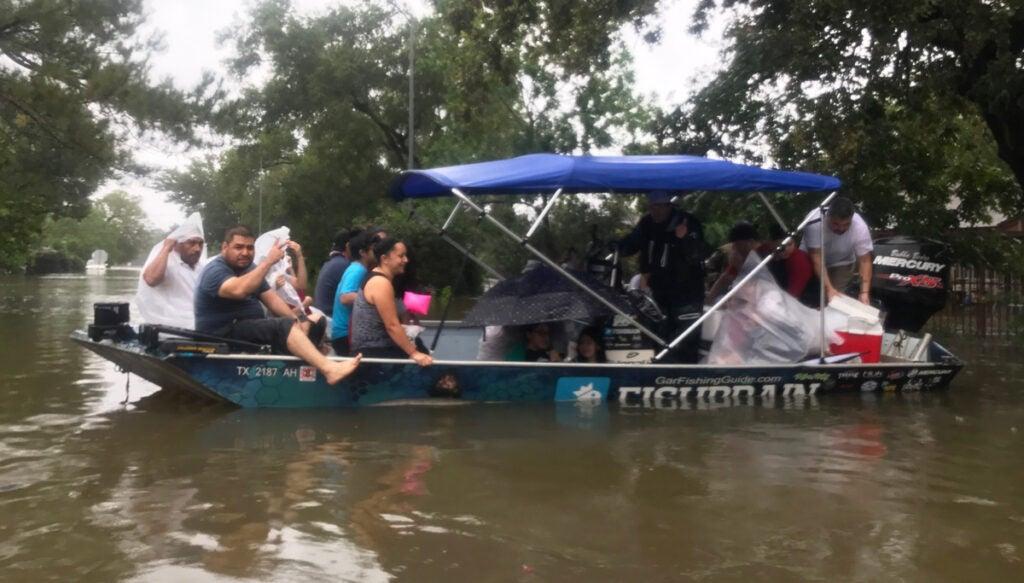 fishing guide hurricane Harvey
