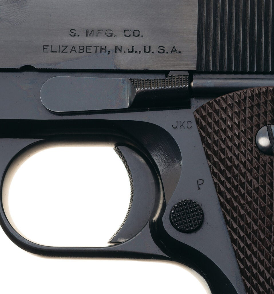 Singer 1911, handgun, military arms