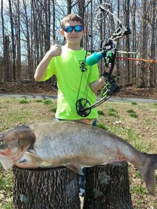 Tennessee Third Grader Sets Silver Carp State Record