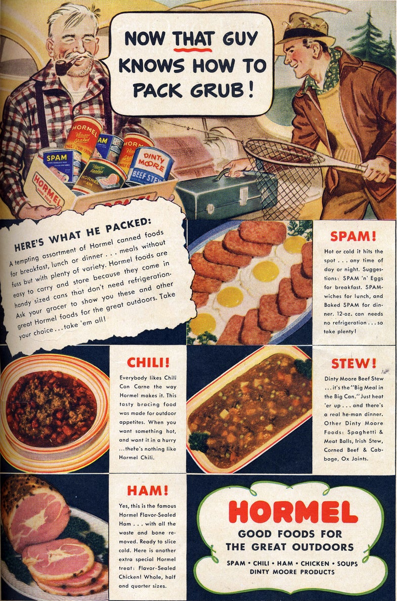 Wacky Ads from the 40s and 50s