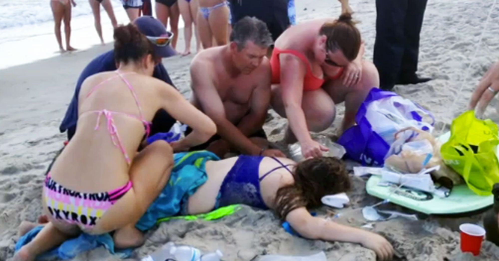 Two Shark Attacks in 90 Minutes at North Carolina Beach