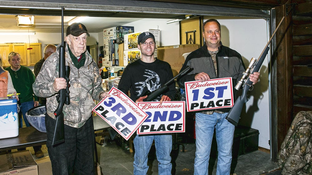 Top finishers of the Indian River Buck Pole