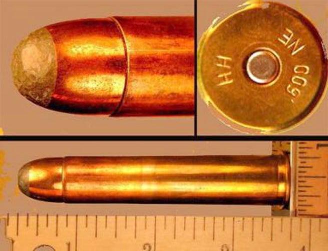 Measuring the .600 nitro express bullet
