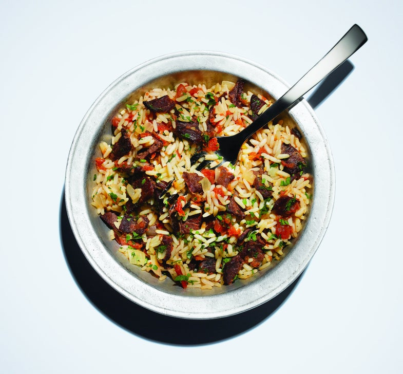Recipe: How To Cook Trucker's Rice With Deer Jerky