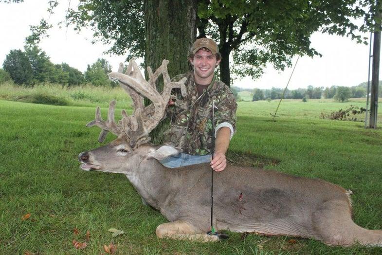 cartwright buck, velvet buck, record buck