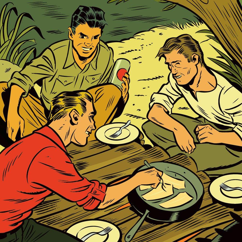 3 ways shore lunch