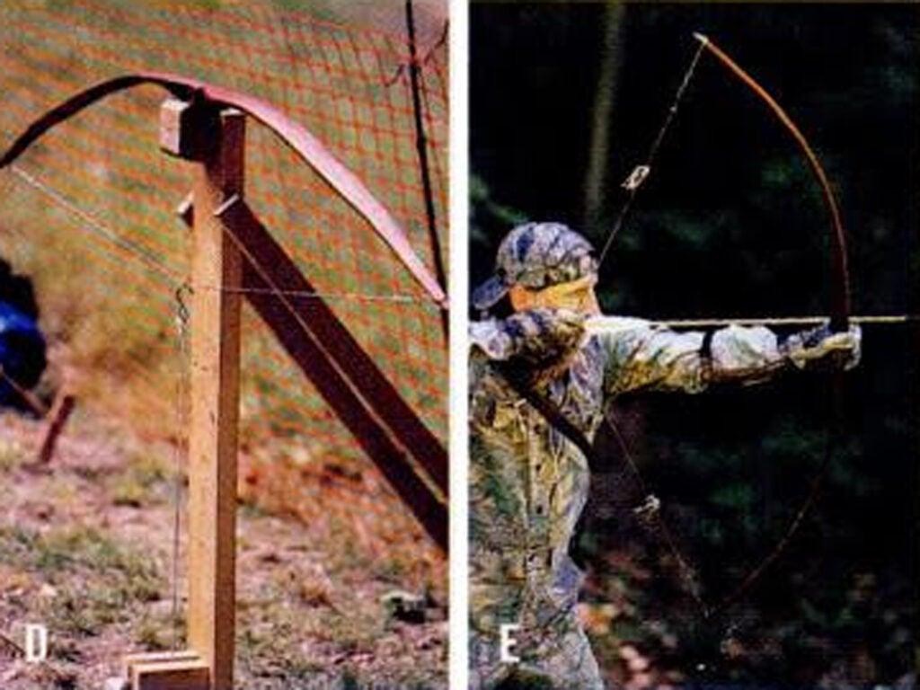homemade bow