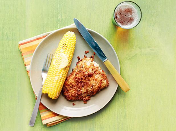 Recipe: Pretzel-Crusted Walleye