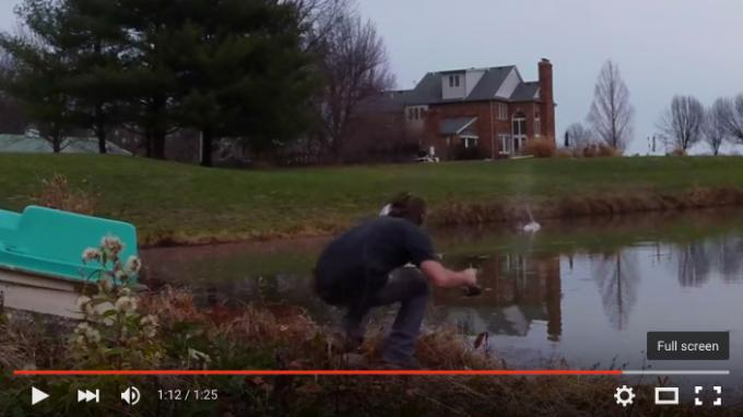 Angler Almost Gets Shot While Filming His Solo Session