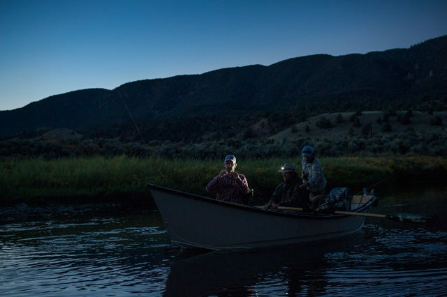 Does Fly Fishing At Night Improve Your Casting and Mending?