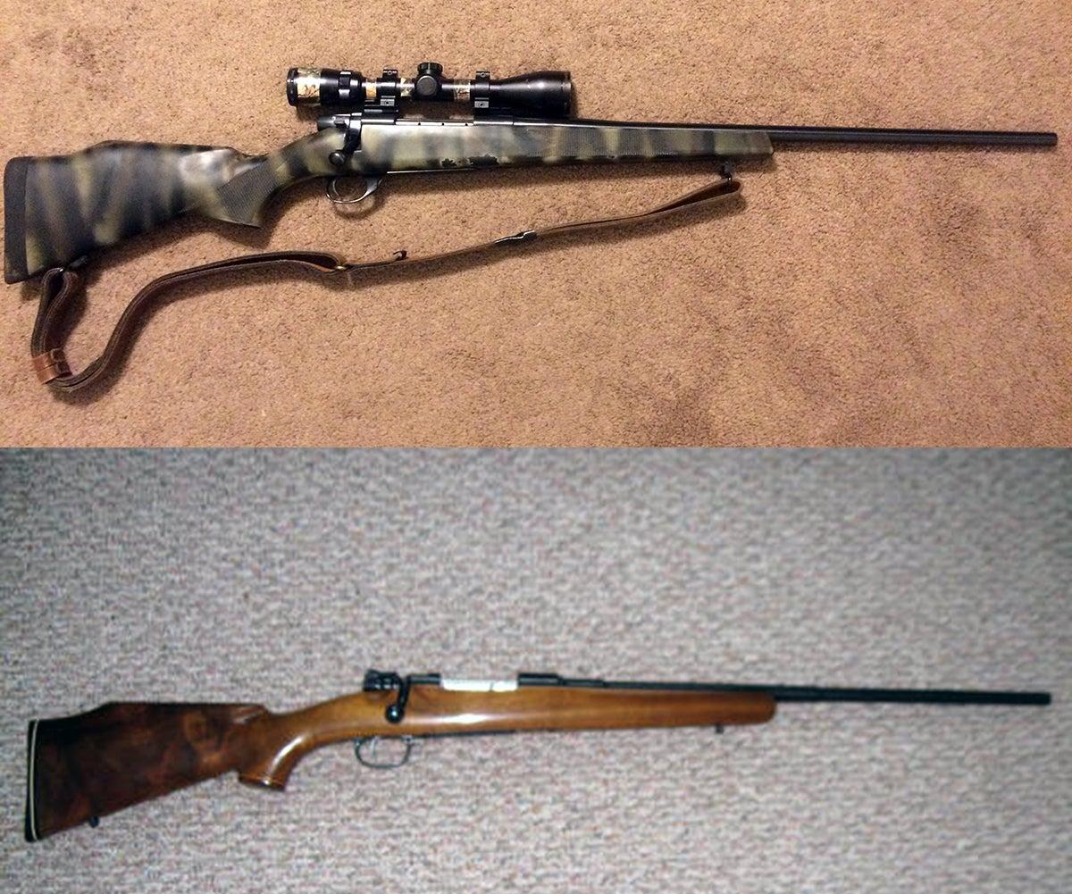 Gunfight Friday: 1908 DWM Mauser vs. Weatherby Vanguard