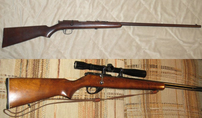 Gunfight Friday: JC Higgins vs. Remington 33
