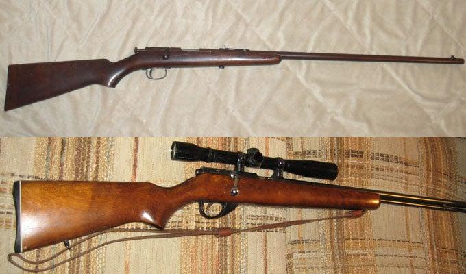 Gunfight Friday: JC Higgins vs. Remington 33