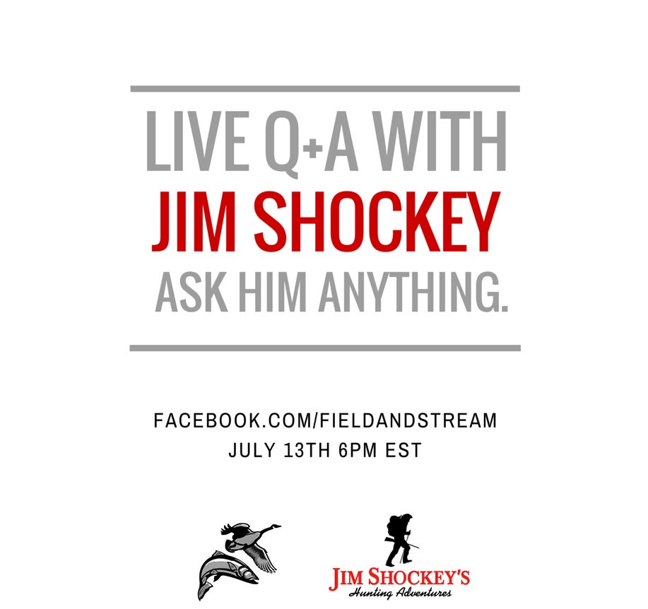 Live Q&A with Jim Shockey Tonight on Facebook