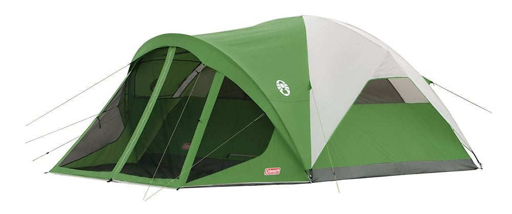 coleman tent, camping tent, large tent, family tent, evanston tent