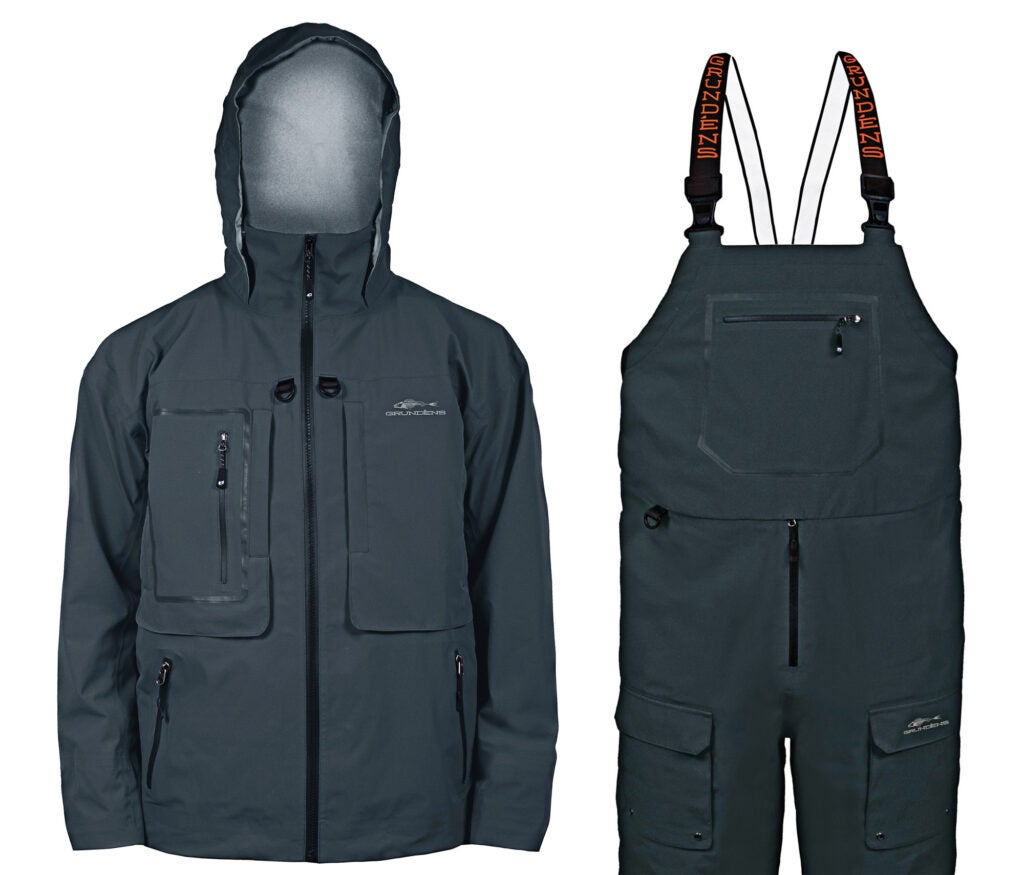 Grundens Dark and Stormy Jacket and Bib Pants