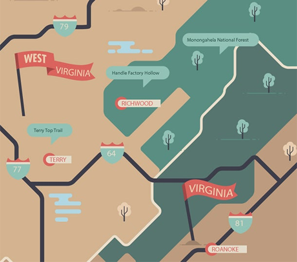 West Virginia Road Trip: The Appalachian Grand Slam
