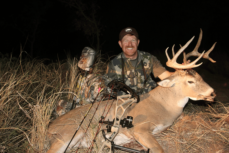 Patterning an Old Buck Just Before a Cold Front