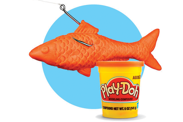 How to Catch Fish With Play-Doh
