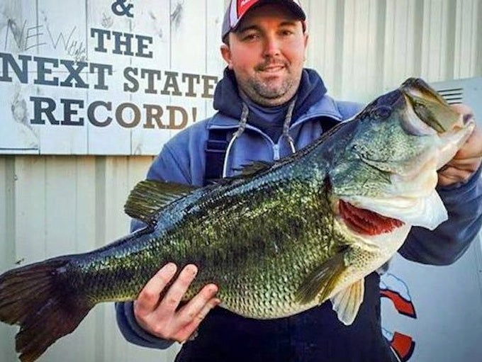 Tennessee Angler Tops Legendary State Largemouth Record