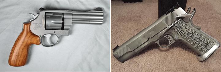 Gunfight: Springfield 1911 vs. Smith & Wesson 625