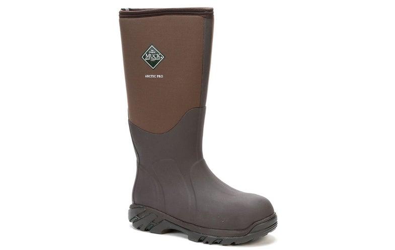 muck boot arctic pro, brown, waterproof, insulated
