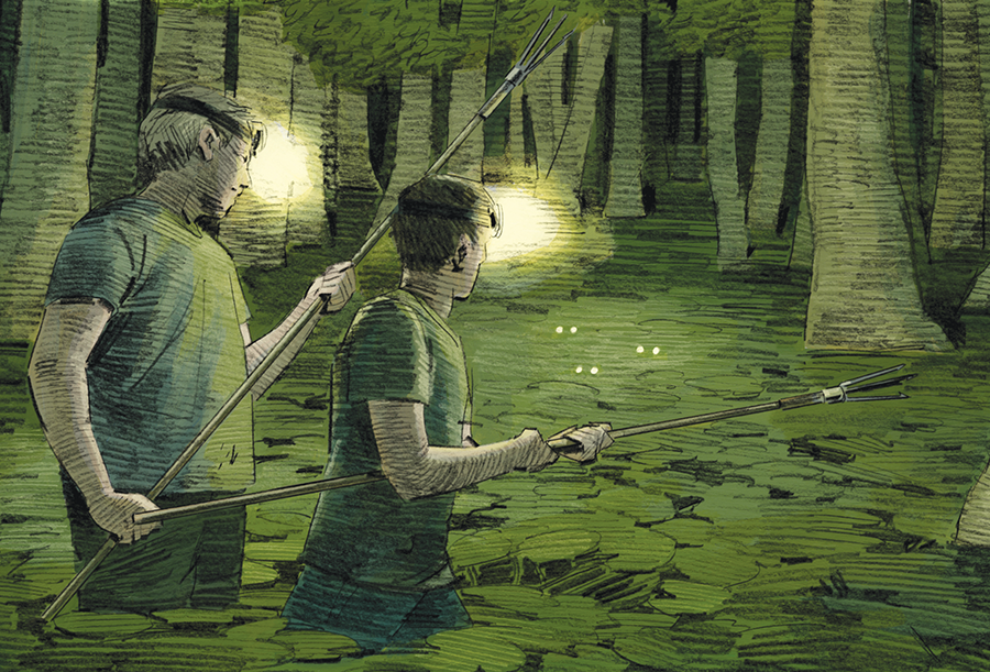 Frog Gigging: The Lost Art of Frog Hunting