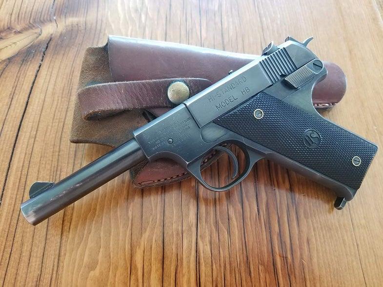 high standard hb handgun