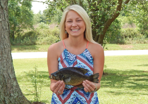 Florida Woman Lands Record Flier Bream