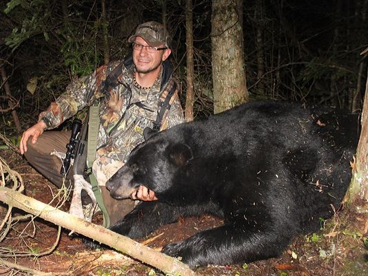 Wisconsin Hunter Bags 780-Pound Black Bear