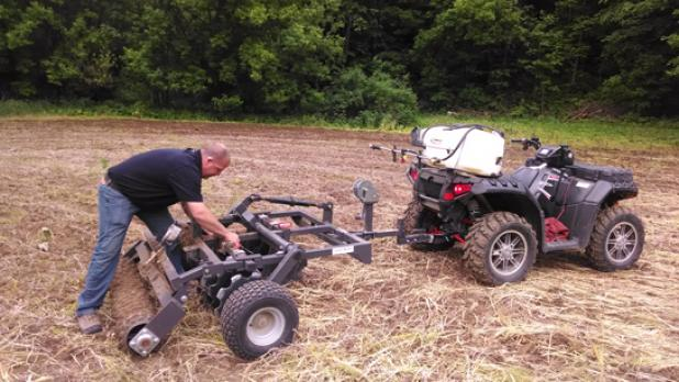 Breaking Ground with Improved ATV Food-Plotting Tools