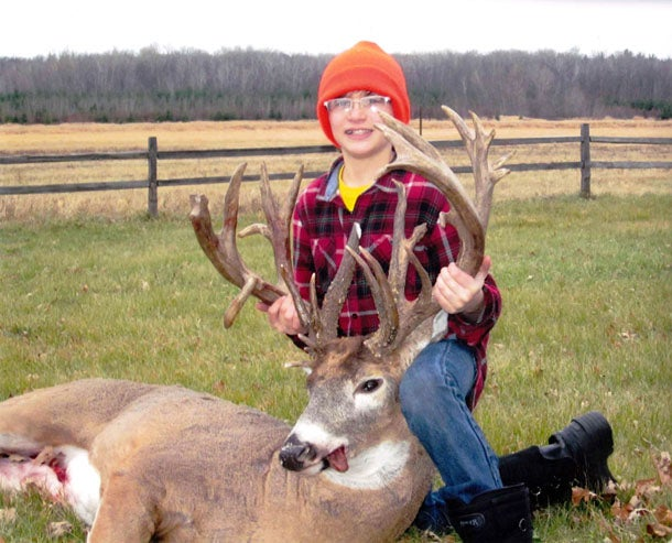 12-Year-Old Hunter Tags 28-Point, 250-Inch Minnesota Whitetail