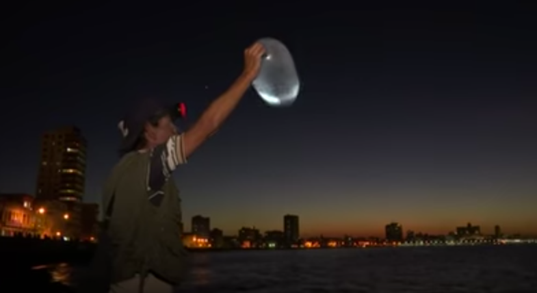 Cuban Fishermen Inflate Condoms to Catch Trophies