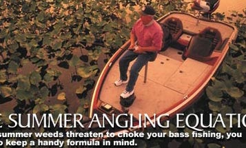 The Summer Angling Equation
