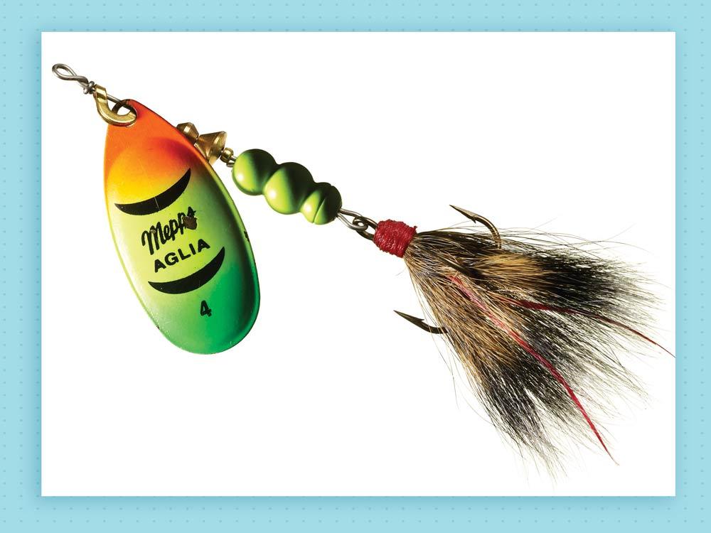 mepps dressed aglia lure