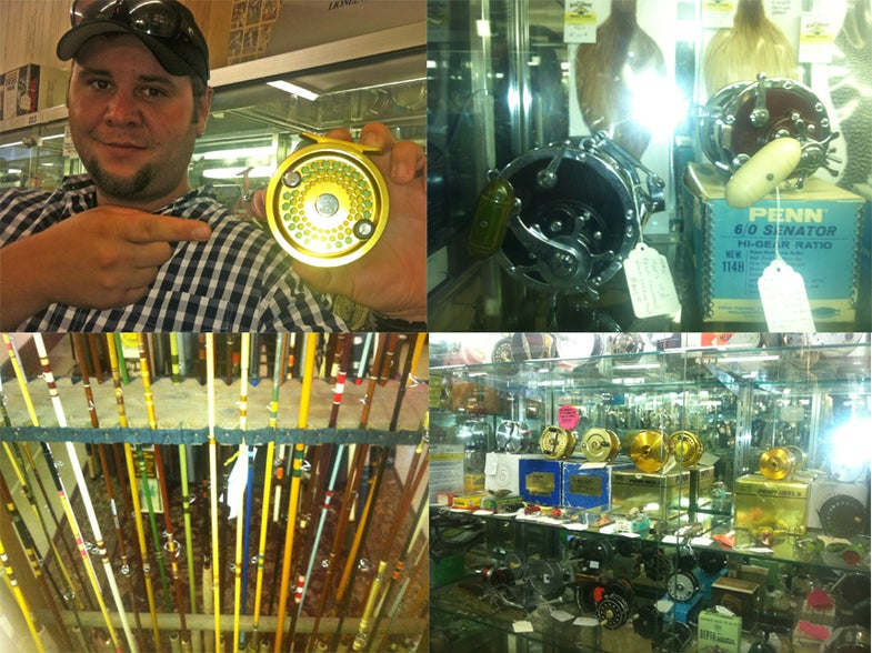 My Panic Attack At The Coolest Vintage Tackle Shop I've Ever Seen