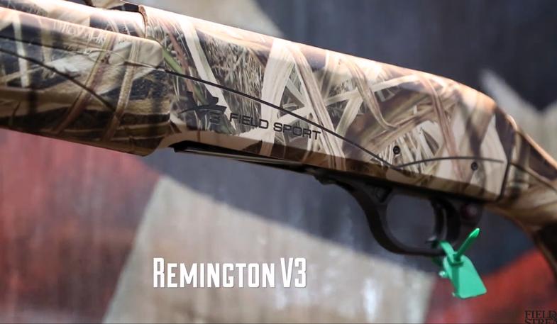 New Semi-Automatic Shotgun: Remington V3