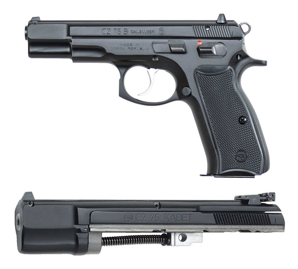 CZ 75 Handgun and CZ 75 Kadet Kit
