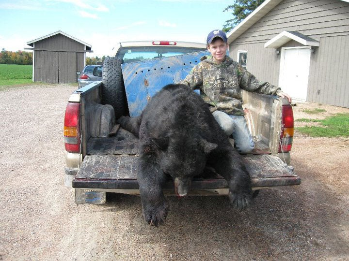 11-Year-Old Wisconsin Hunter Bags State-Record Bear