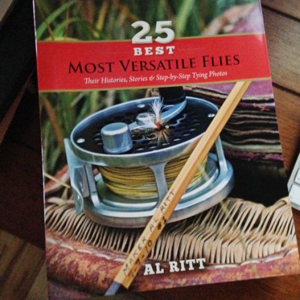 Book Review: '25 Best Most Versatile Flies' by Al Ritt
