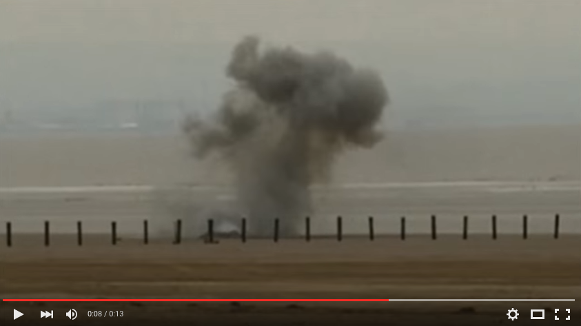 Video: UK Angler Catches Live Wartime Bomb