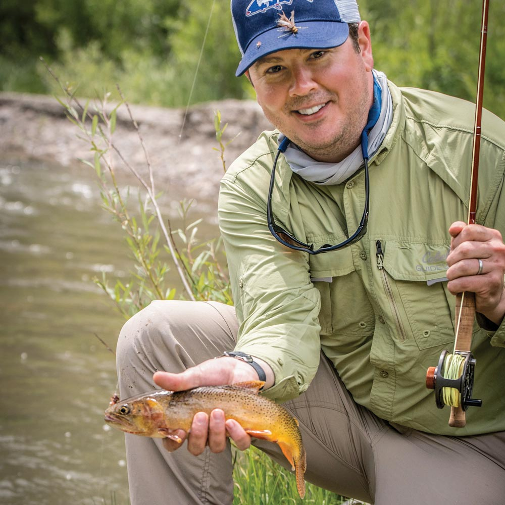 cutthroat trout caribou-targhee national forest