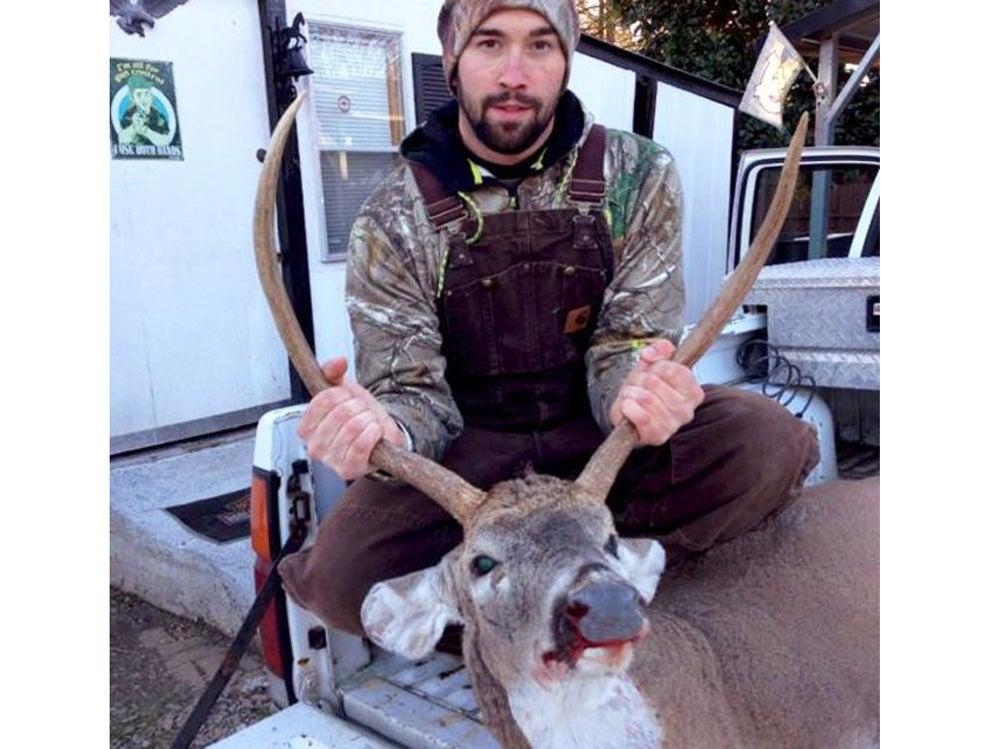 24-inch spike buck