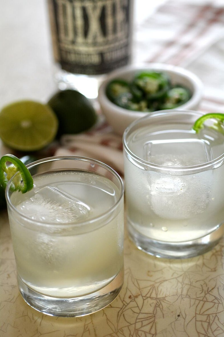 Friday Cocktail Hour: The Spicy Buck