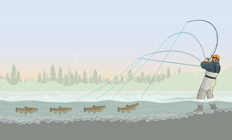 Two Tips for Fighting Big Trout