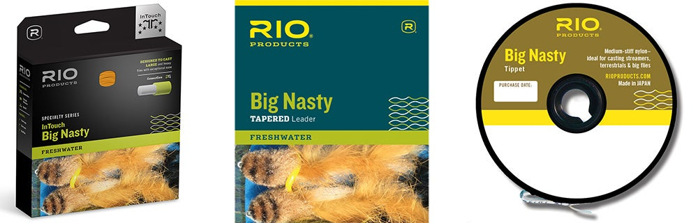 RIO Big Nasty Tippet/Leaders/Line