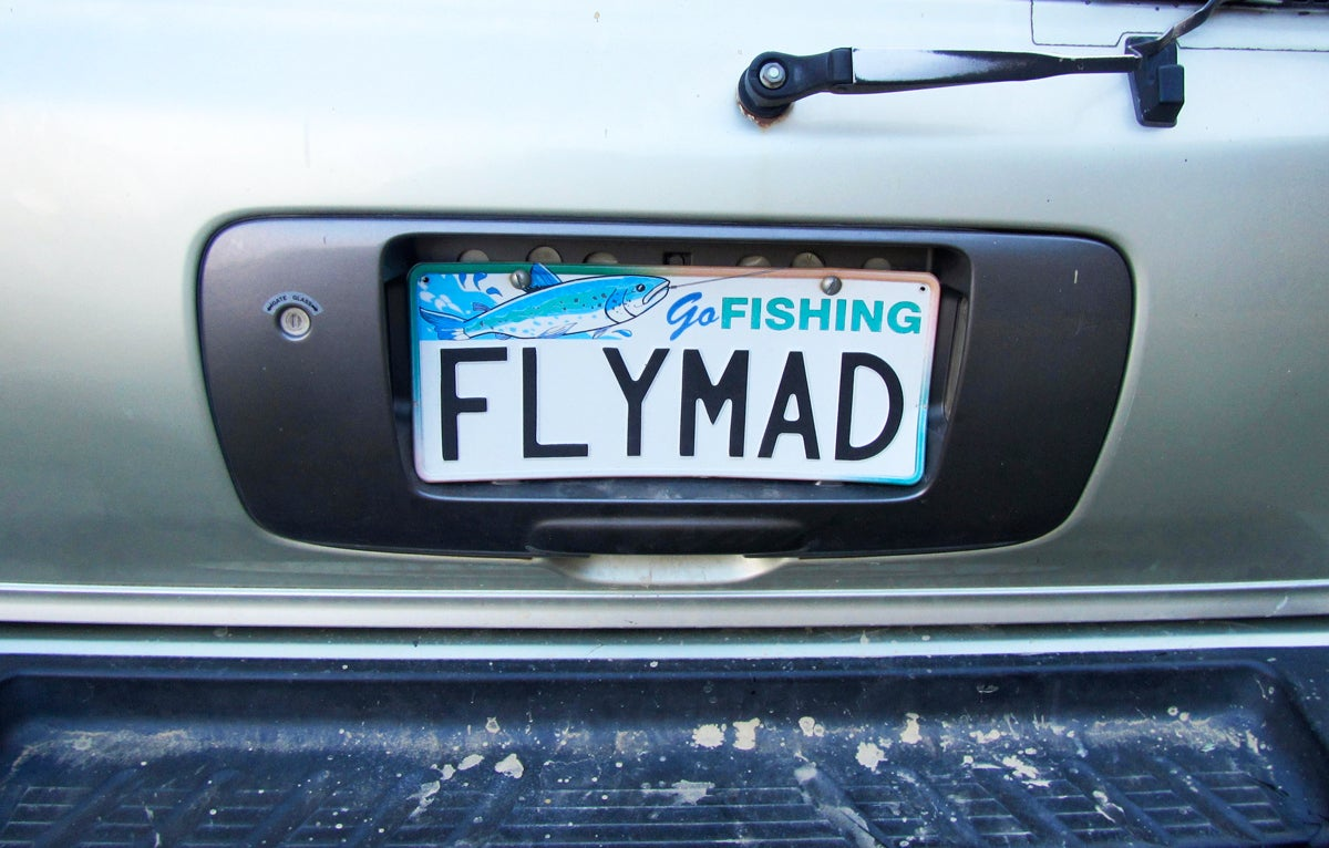 Think Up the Best Fly-Themed License Plate, Win a Prize