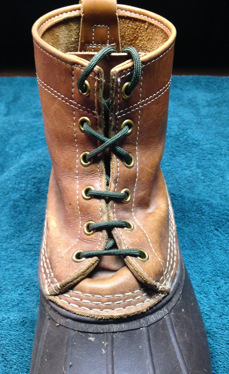How to Lace Your Boots: The Madness Continues