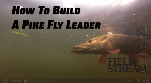 Video: How To Build a Pike Fly Leader